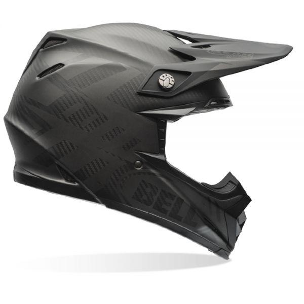 casque bell moto 9 carbon flex matte syndrome black en stock. Black Bedroom Furniture Sets. Home Design Ideas