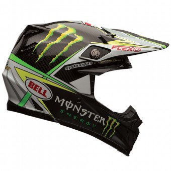 Casque Cross Bell Moto-9 Carbon Flex Pro Circuit Replica