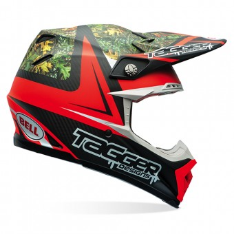 Casque Cross Bell Moto-9 Carbon Flex Tagger Rekluse