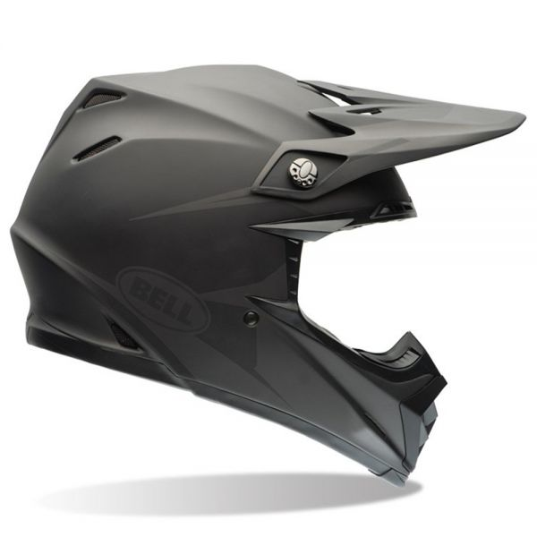 Casque Cross Bell Moto-9 Matte Black Intake