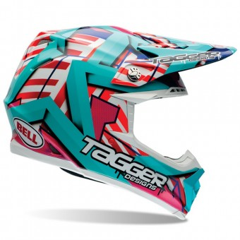 Casque Cross Bell Moto-9 Tagger Trouble