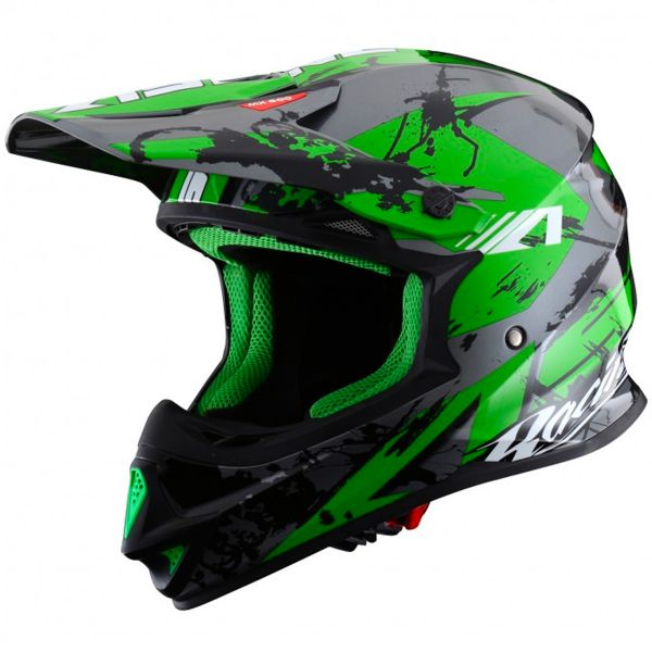 Casque Cross Astone MX 600 Giant Black Green