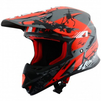 Casque Cross Astone MX 600 Giant Matt Black Red