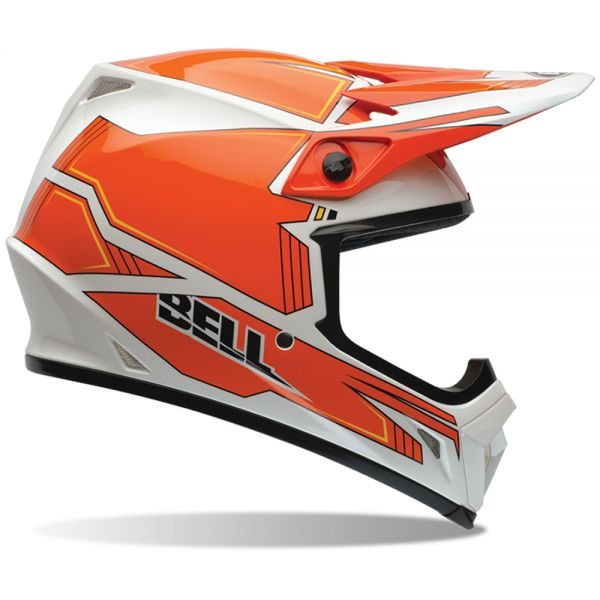 Casque Cross Bell MX-9 Blockade Orange