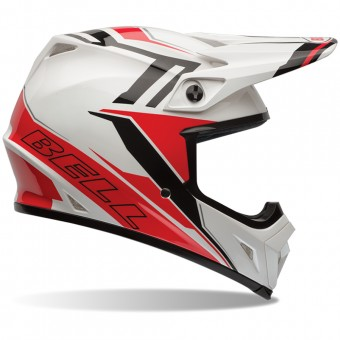 Casque Cross Bell MX-9 Barricade Red