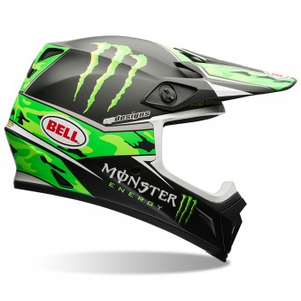 Casque Cross Bell MX-9 Pro Circuit Replica Camo Green