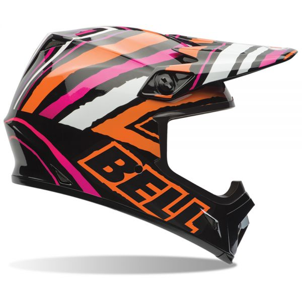 Casque Cross Bell MX-9 Tagger Scrub Pink