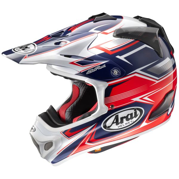 Casque Cross Arai MX-V Sly Red