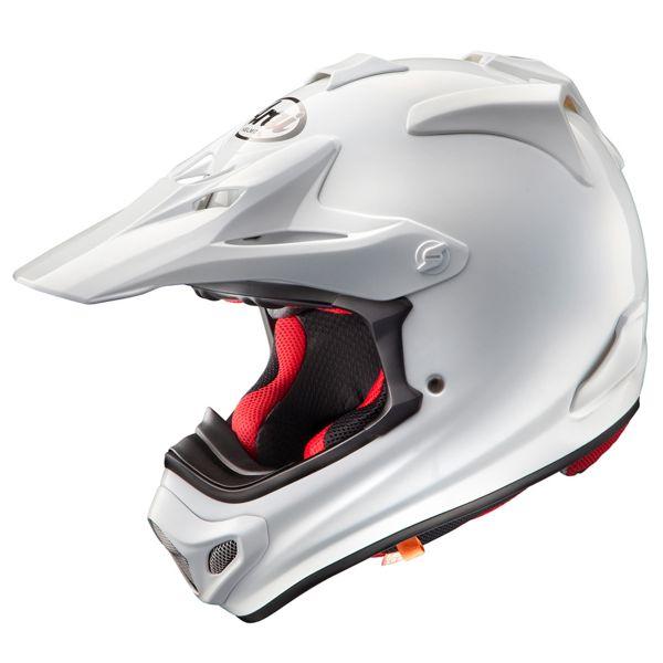 Casque Arai MX-V White en Stock | iCasque.com