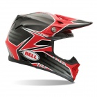 Casque Cross Bell Moto-9 Pinned Red