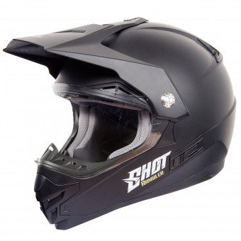 Casque Cross SHOT Rambler Noir Mat