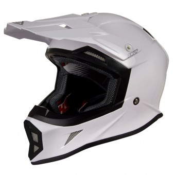 Casque Cross SHOT Striker Blanc