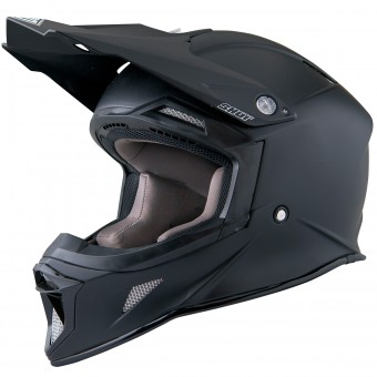 Casque Cross SHOT Striker Matt Black