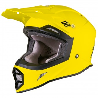 Casque Cross SHOT Striker Neon Yellow