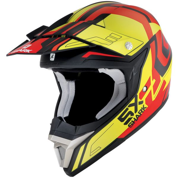 Casque Cross Shark SX2 Bhauw Mat KYR
