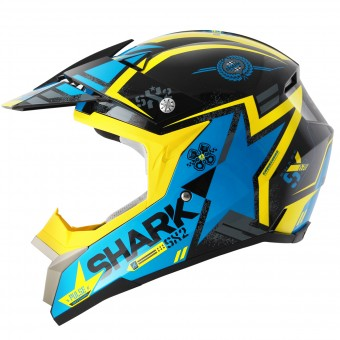 Casque Cross Shark SX2 Wacken KBY