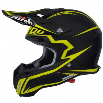 Casque Cross Airoh Terminator 2.1 Fit Yellow Matt