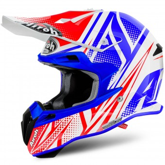 Casque Cross Airoh Terminator 2.1 S Cleft Gloss