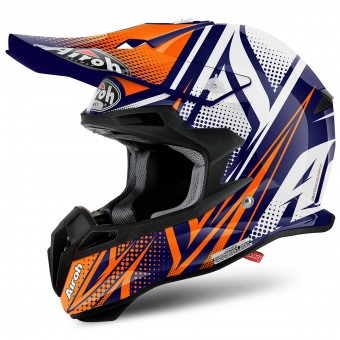 Casque Cross Airoh Terminator 2.1 S Cleft Orange