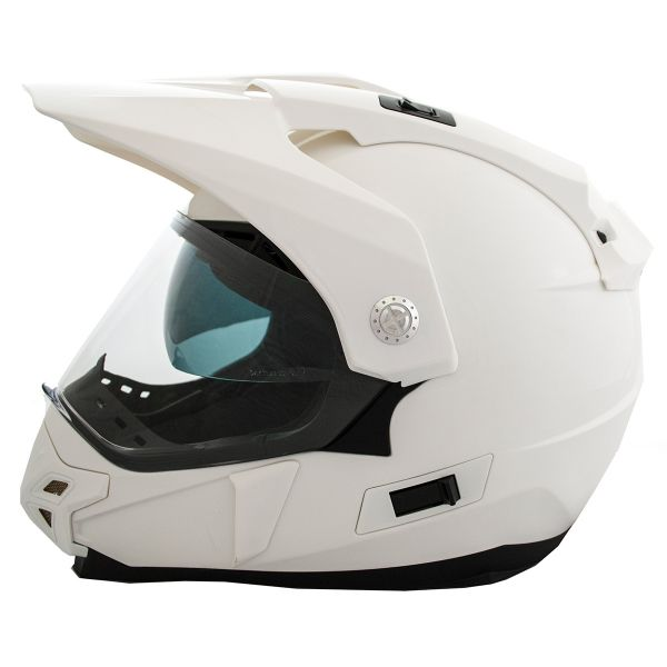 Casque Cross LEM Trail White