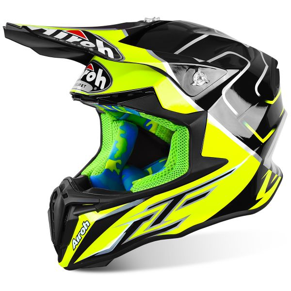 Casque Cross Airoh Twist Cairoli Mantova TCMN16