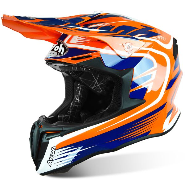 Casque Cross Airoh Twist Mix Orange