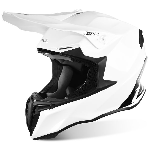 Casque Cross Airoh Twist White