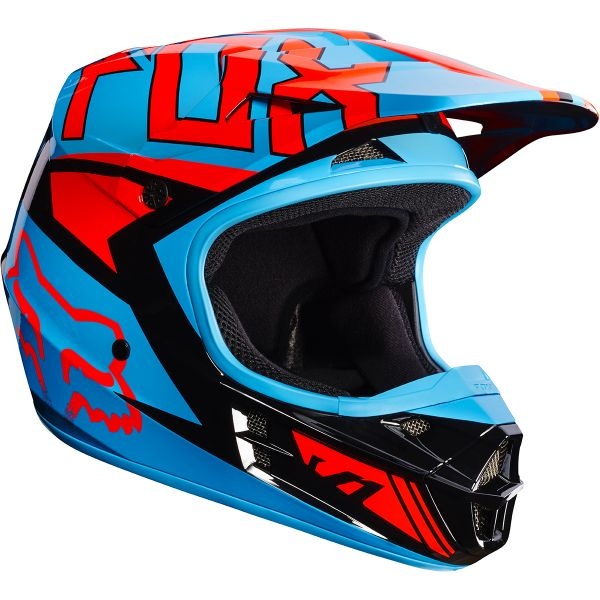 Casque Cross FOX V1 Falcon Black Orange 016