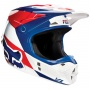 Casque Cross FOX V1 Mako Blue White (025)