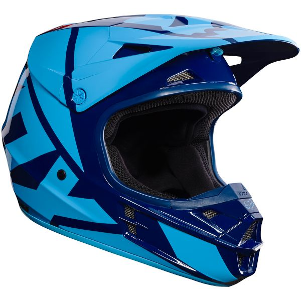 Casque Cross FOX V1 Race Navy 007