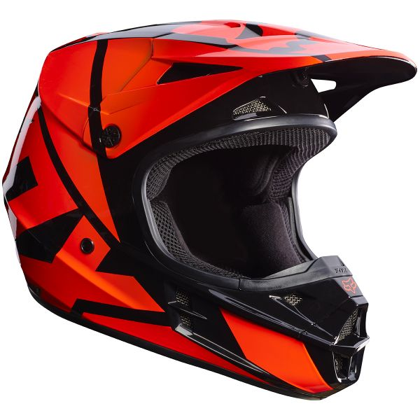 Casque Cross FOX V1 Race Orange 009