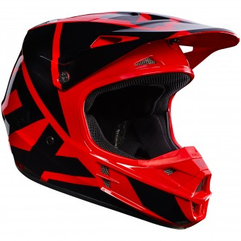 Casque Cross FOX V1 Race Red 003