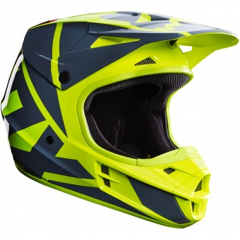 Casque Cross FOX V1 Race Yellow 005