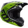Casque Cross FOX V2 Nirv Grey Yellow 086