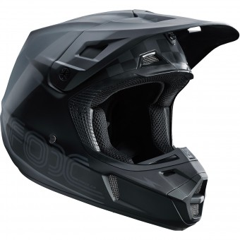 Casque Cross FOX V2 Rohr Black Grey 014