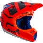 Casque Cross FOX V3 Creo Orange 009