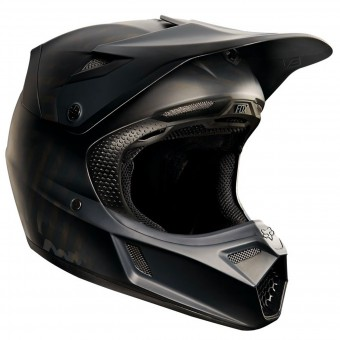 Casque Cross FOX V3 Matte Carbon Matte Black 255