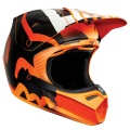 Casque Cross FOX V3 Savant Orange