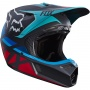 Casque Cross FOX V3 Seca Grey Red 037