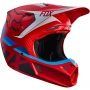 Casque Cross FOX V3 Seca Red 003