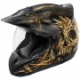 Casque Cross ICON Variant Splintered Black