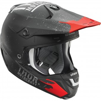 Casque Cross Thor Verge Objectiv Black Grey
