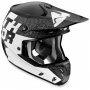 Casque Cross Thor Verge Tach Black White