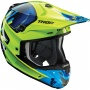 Casque Cross Thor Verge Vortechs Flo Green Navy