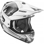 Casque Cross Thor Verge Vortechs White Grey