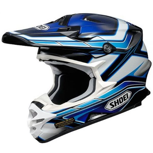 Casque Cross Shoei VFX-W Capacitor TC2