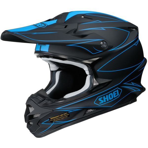 Casque Cross Shoei VFX-W Hectic TC2