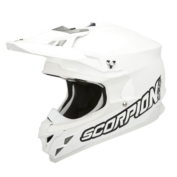 Casque Cross Scorpion VX-15 Evo Air Blanc