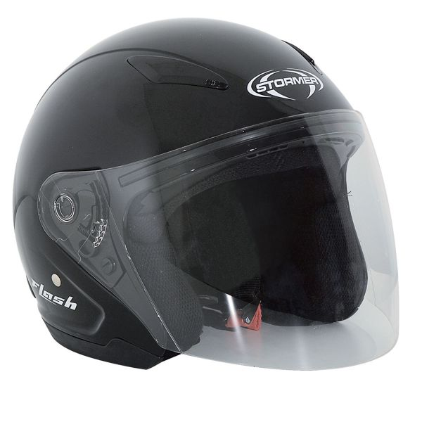Casque Enfant Stormer Flash Kid Noir