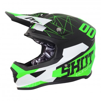 Casque Enfant SHOT Furious Spectre Black Green Enfant